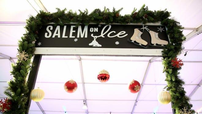 Salem On Ice, a seasonal ice rink, at Riverfront Park in Salem on Thursday, Nov. 16, 2017.