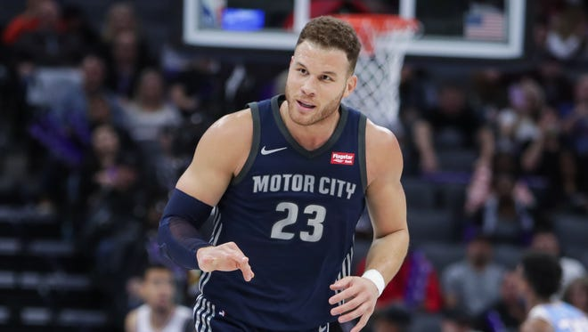 Blake Griffin has found success behind the 3-point line recently, a vital skill for the Pistons' future success.