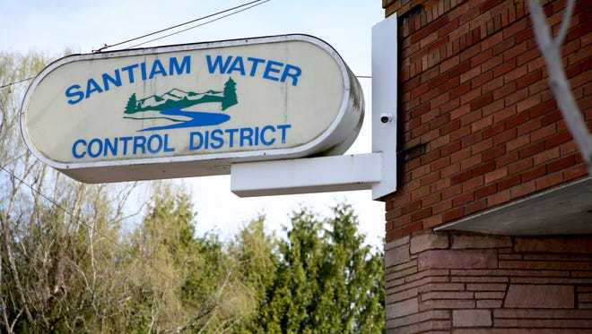 The Santiam Water Control District in Stayton on Friday, April 6, 2018.