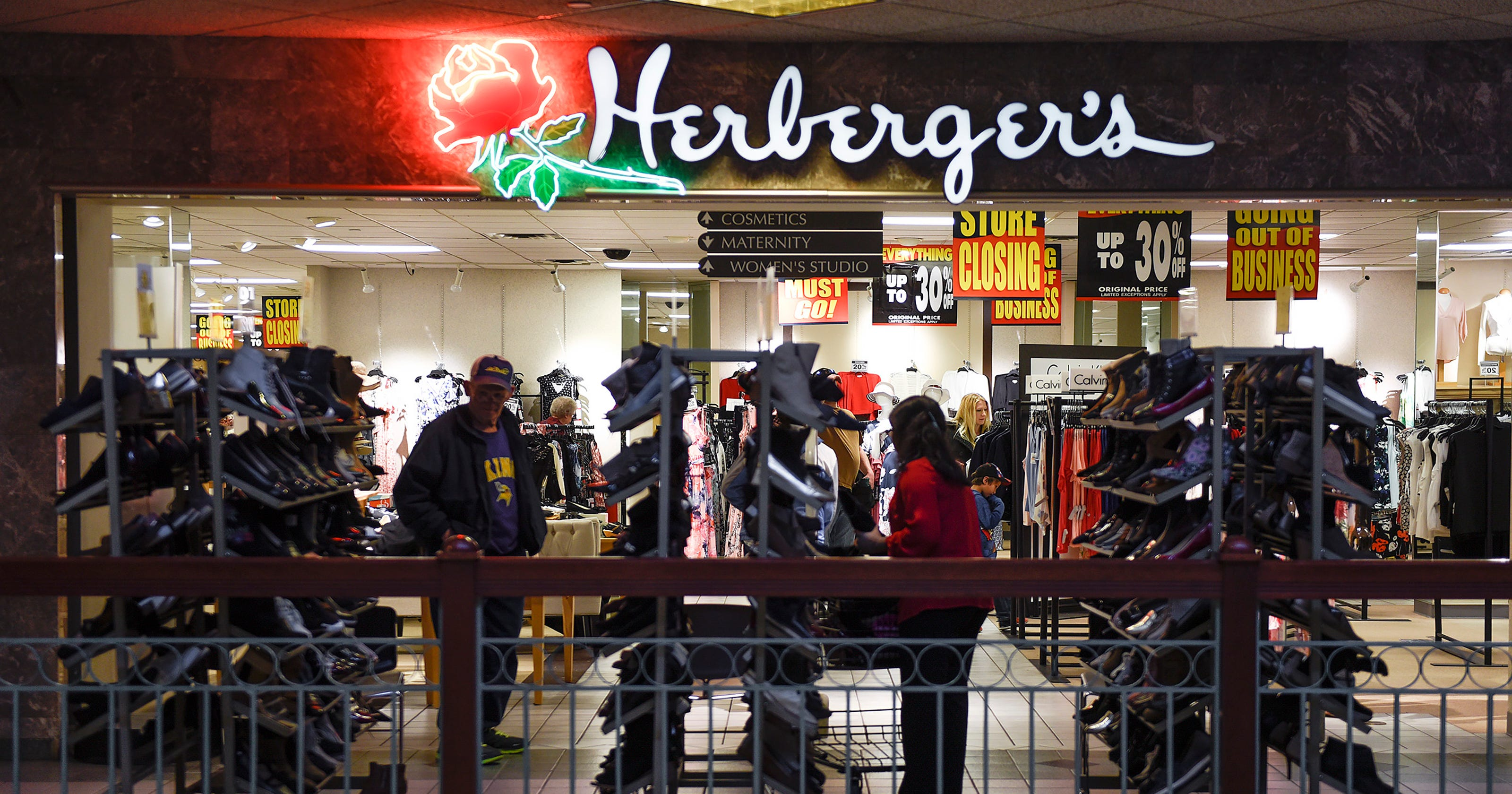 ab745abd8c Herberger s starts going-out-of-business sale