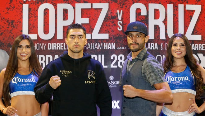 """Josesito Lopez, known as """"The Riverside Rocky'' will battle rising contender Miguel Cruz in a 10-round welterweight showdown in the main event during the night of boxing being held at the Don Haskins Center. Former super middleweight world champion Anthony Dirrell takes on El Paso's Abraham Han in a 10-round 168-pound fight. The card also features unbeaten Mexican featherweight contender Jorge Lara against Dominican brawler Claudio Marrero in the 10-round opening bout. A night of boxing featuring 12 bouts is set to begin at 4:05 pm with the televised portion of the fight scheduled to begin at 6:30 p.m. as part of the Premier Boxing Champions with the fights being televised on FOX & FOX Deportes."""