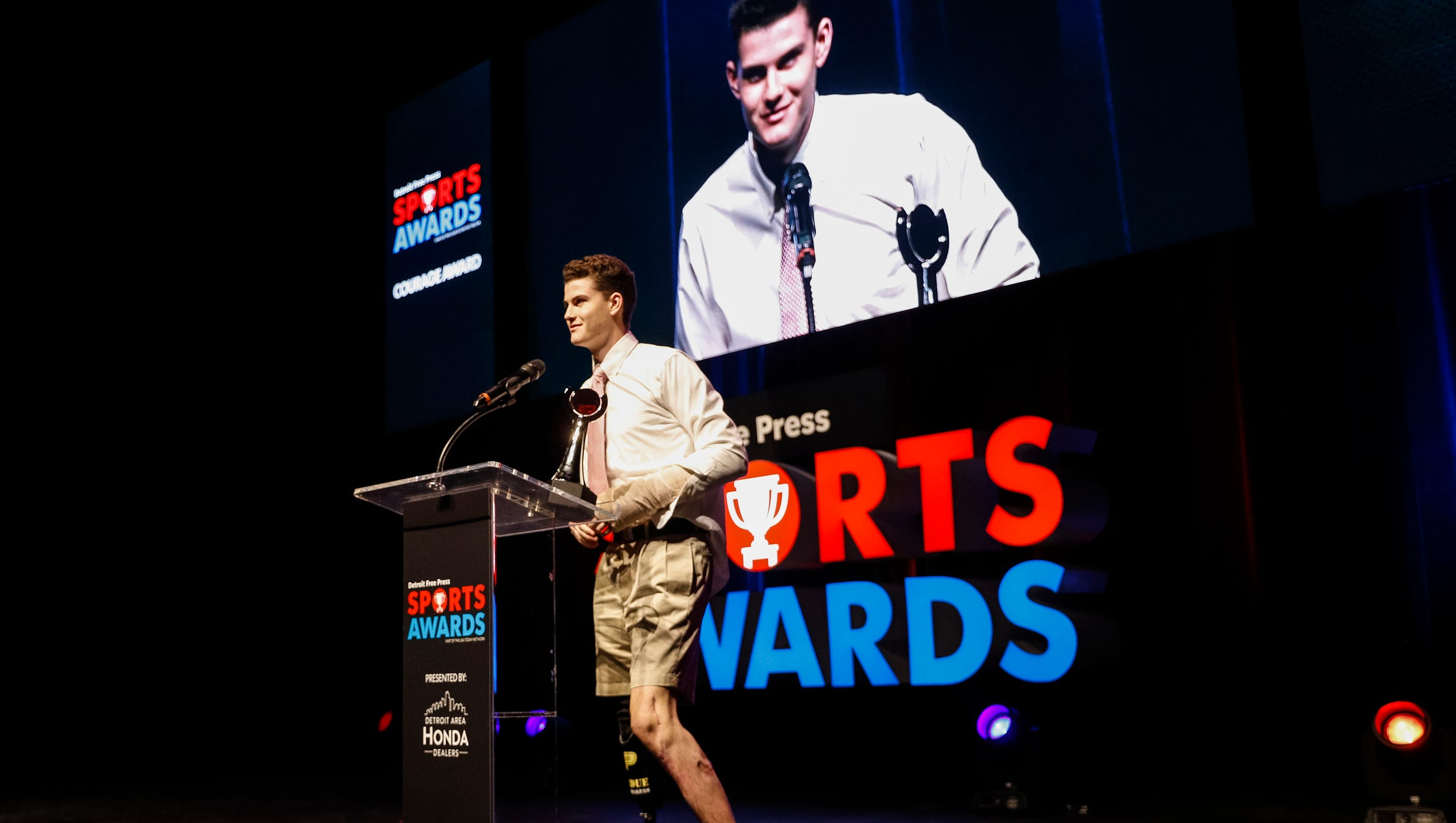Detroit Free Press Sports Awards Honor Area S Best