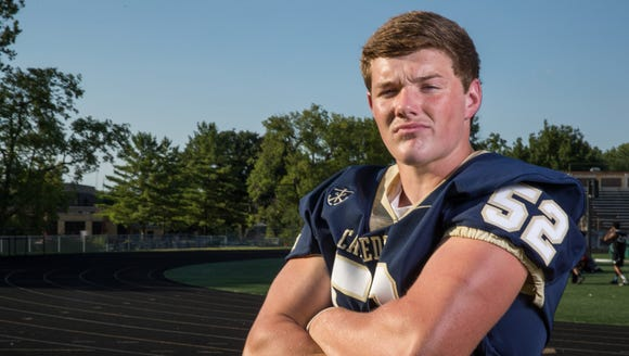 Richie Hagarty, linebacker, Cathedral High School,