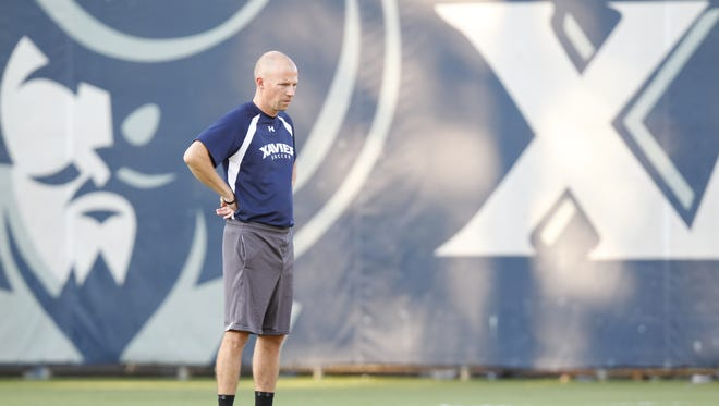 Xavier soccer coach Andy Fleming says this team is one of XU's best.