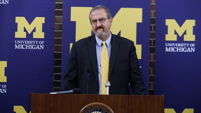 University of Michigan President Mark Schlissel is the second highest paid official at the school with an annual salary of $750,000.