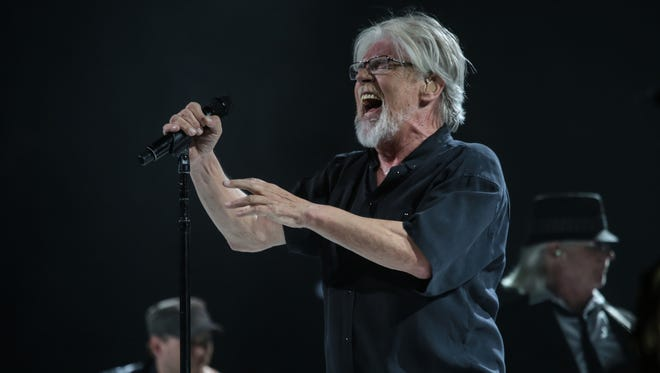 Bob Seger at the Palace of Auburn Hills on March 26, 2015.