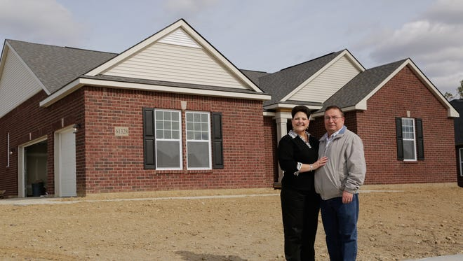 Patrina Spisz, 56, of South Lyon and her husband, Mark Spisz, 54, will soon be moving into their newly built home in South Lyon. They sold their existing home, also in South Lyon, in one day for the full asking price. They were surprised by how quickly they got an offer.
