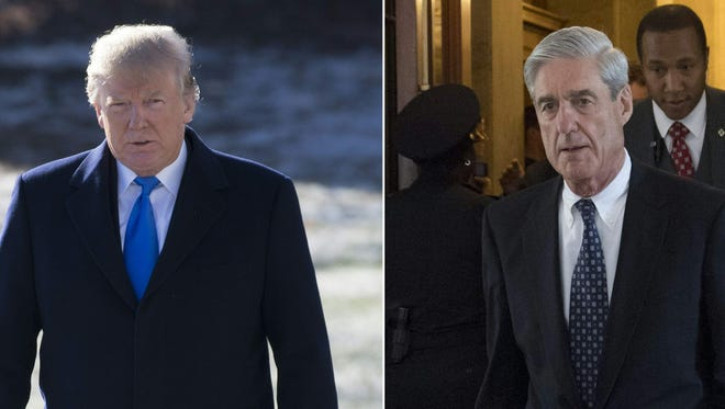 President Trump and Robert Mueller