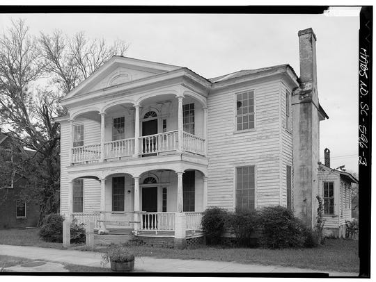 This historic photo of the Wolfe House on South Congress