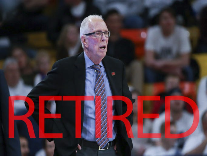 Steve Fisher announced his retirement from San Diego