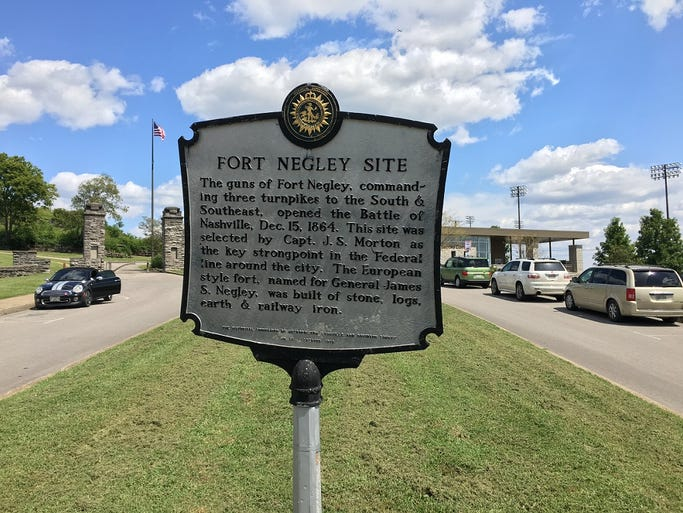 Tour of Fort Negley, Sept. 6, 2017.