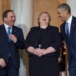 Obama greets Nordic leaders, saying they 'punch above their weight'