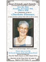 Celebration of Life / Charlotte Flanner