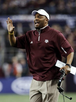 Texas A&M coach Kevin Sumlin's Aggies have enjoyed recent recruiting success.
