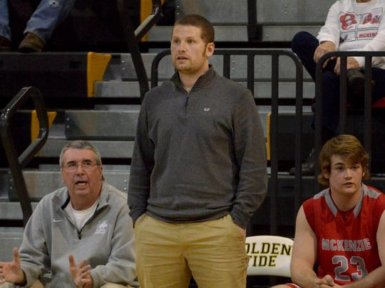 John Wilkins is in his fourth season in charge of the McKenzie boys.