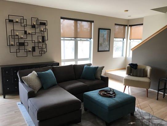 Furniture arrangement - after