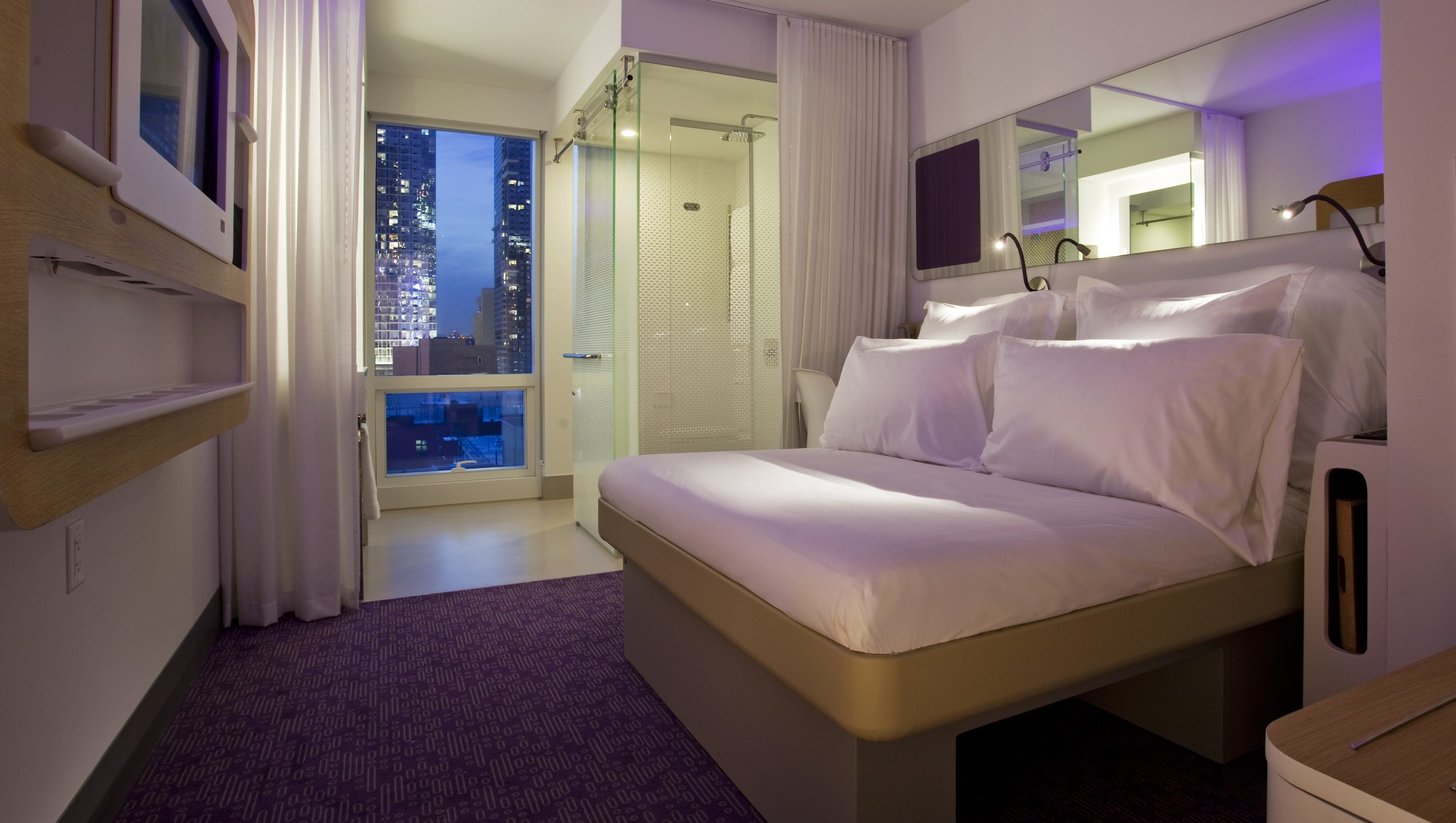 Rooms Review: The Incredible Shrinking Hotel Room