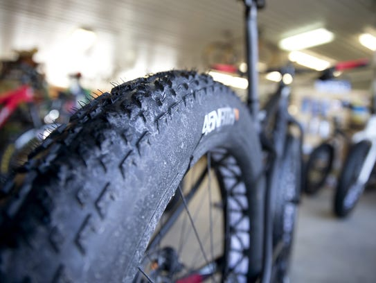 Fat bikes specialize in off-road riding, especially