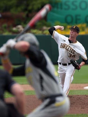 Iowa's Tyler Peyton made a move onto scouts' radar with a strong season that included a 7-4 record and 3.03 ERA. He led Iowa in innings (95) and strikeouts (74) and was the winning pitcher in the school's first NCAA regional win since 1972.