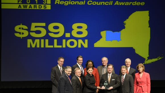 Members of the Finger Lakes Regional Council received $59.8 million during the 2013 Regional Economic Development Awards in Albany.