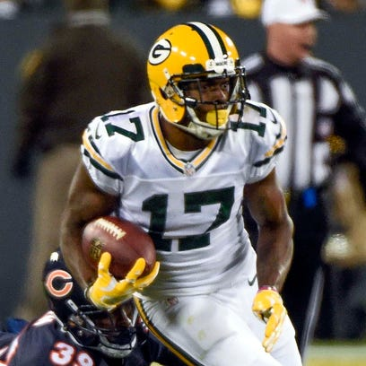 Davante Adams set career highs with 13 catches and 132 yards in Week 7.