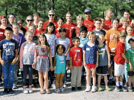 Twenty-nine campers, plus volunteers, spent the last week of July at the Peace Village Day Camp at High Mesa healing Center in Alto.
