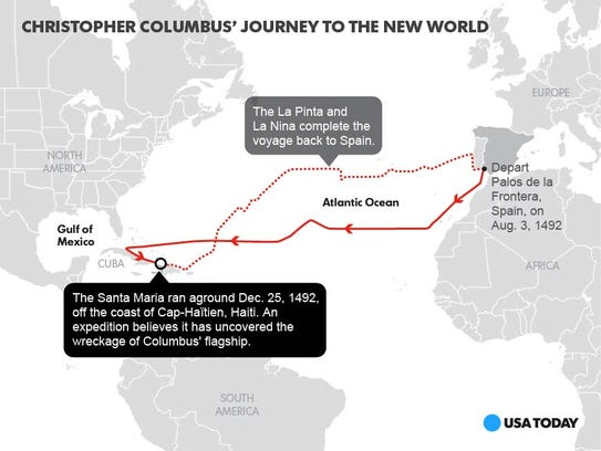 Santa Maria route