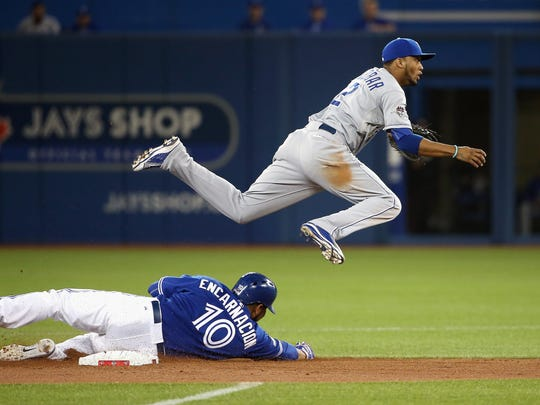 Royals shortstop Alcides Escobar is a pest at the top of the lineup.