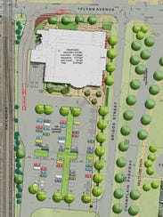 An updated plan for City Market's proposed South End