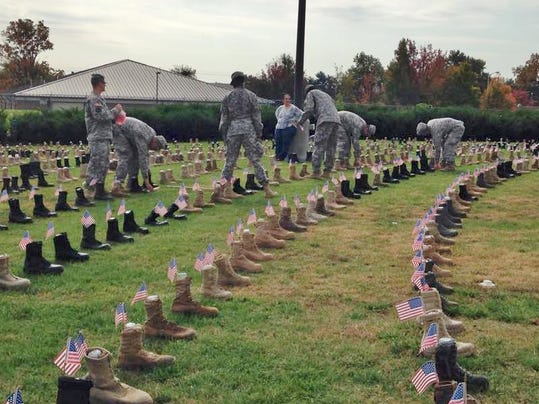 Fallen Soldiers Families Honored At Fort Campbell