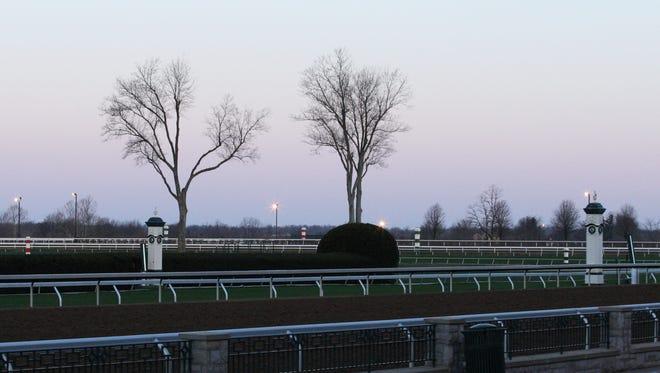 Facility Scenics | Morning | Keeneland Race Course | 03-28-15