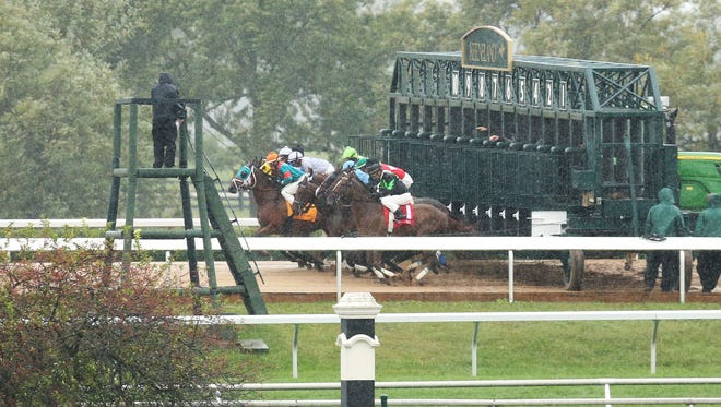 Opening Day | Scenics | Fall Meet | Keeneland Race Course | 10-02-15
