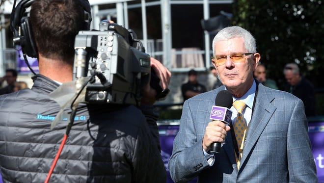 Mike Battaglia during Breeders' Cup week at Keeneland.