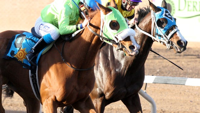 The Sunland Derby has been canceled, track officials confirmed Tuesday.