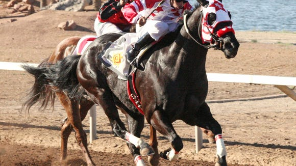 Too Flash For You won a stakes race Friday at Sunland