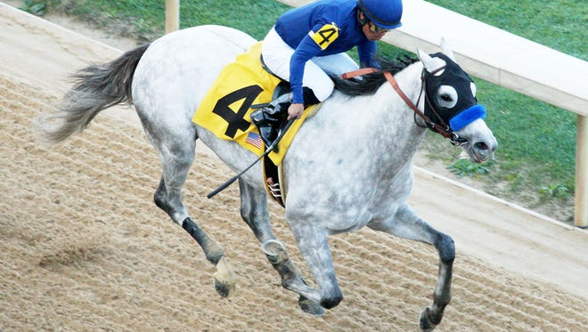 Cupid led most of the way in Saturday's Rebel Stakes.