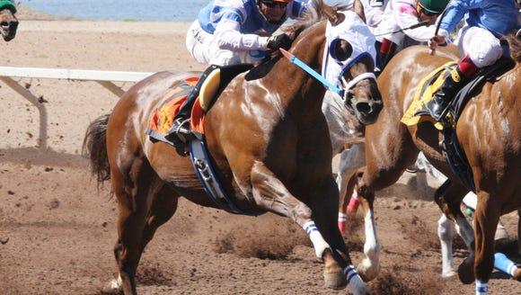 Princess Jesse wins the Sunburst Stakes at Sunland