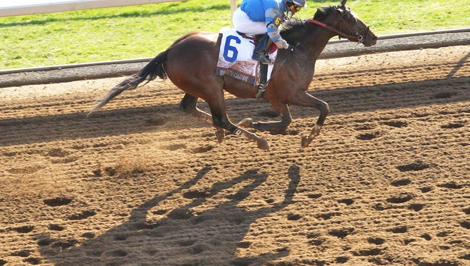 Brody's Cause kicked home for a win in the Blue Grass Stakes.