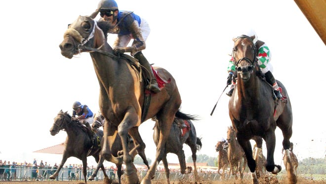 Call Pat won 2015's running of the Groupie Doll Stakes at Ellis Park.