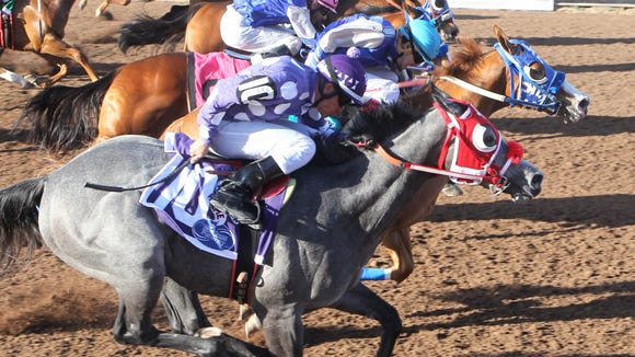 Suenos Dineros won the West Texas Futurity on Saturday a Sunland Park Racetrack & Casino.