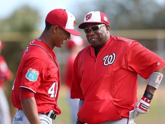 USP MLB: WASHINGTON NATIONALS-WORKOUTS S [BBA OR BBN] USA FL