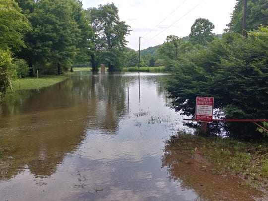 Headwaters Outfitters in Rosman has had to suspend French Broad River trips due to dangerously high water levels and downed trees.