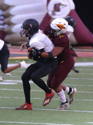 Hays High defensive Gaven Haselhorst was selected to the Class 5A Kansas Football Coaches Association senior All-State teams.