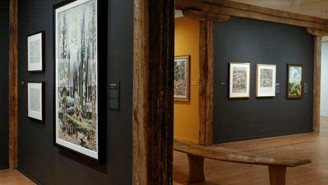 The new exhibit binds Brandywine River Museum of Art closer to its parent, the Brandywine Conservancy, which focuses on protecting and conserving the landscape.