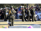 U.S. Border Patrol pall bearers carry the body of fellow