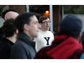 The Yale University Whiffenpoofs performed for residents