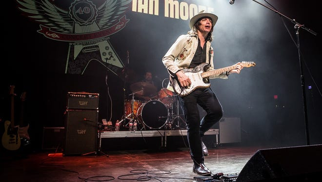 Ian Moore, shown in concert at Gas Monkey in Dallas last year, is in concert April 16 at Butch's Bar in Sturgeon Bay.