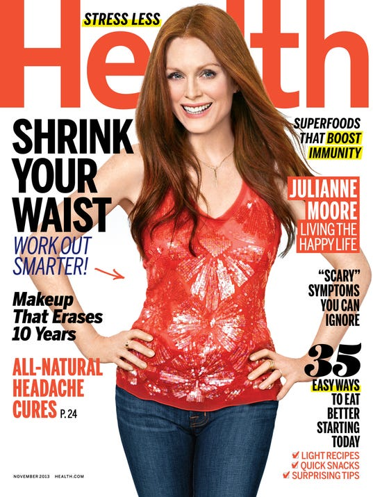 julianne moore health cover