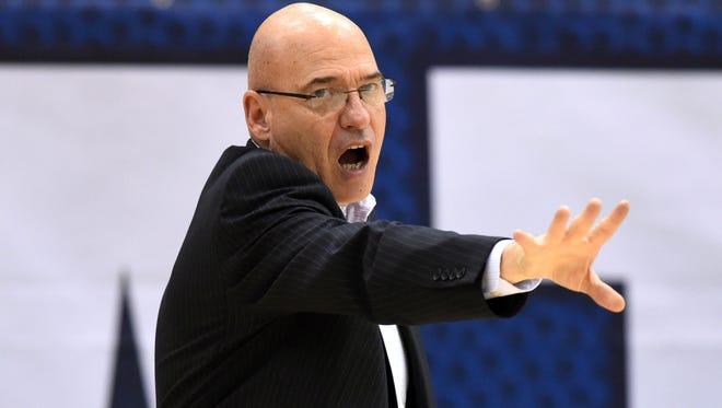 ULM head coach Keith Richard saw his team lose at home to UTA.