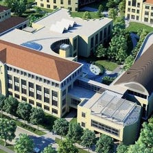 An architectural rendering depicts a $100 million expansion at the Neeley School of Business, 2900 Lubbock Ave. at TCU. A $30 million gift announced Wednesday gets the fundraising started for the project.